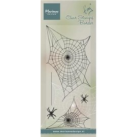 Marianne Design timbro trasparente: Spinnewebe
