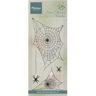 Marianne Design Transparant stempel: Spinnewebe