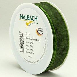 DEKOBAND / RIBBONS / RUBANS ... Wire edge ribbon 25mm