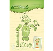 Leane Creatief - Lea'bilities und By Lene Punching and embossing template: Scarecrow