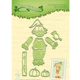 Leane Creatief - Lea'bilities und By Lene Poinçonnage et modèle de gaufrage: Scarecrow