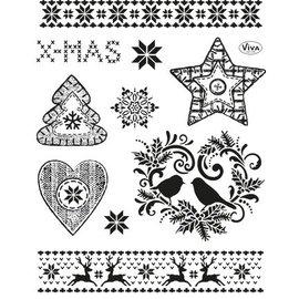 Stempel / Stamp: Transparent ANGEBOT! Transparente Stempel: Weihnachtsmotive