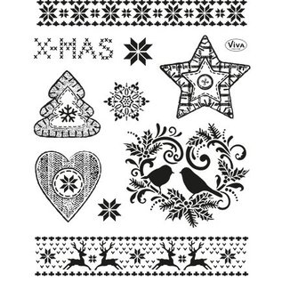 Stempel / Stamp: Transparent Transparante stempels: Christmas Theme