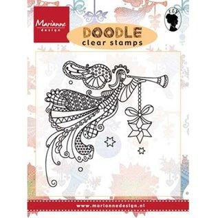 Marianne Design Transparant stempel: Doodle angel
