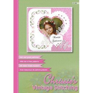 Bücher, Zeitschriften und CD / Magazines A4 blad van Nelli Snellen, Chrissie`s Vintage Stikken