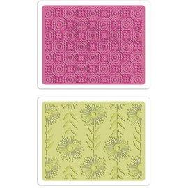 embossing Präge Folder carpetas de repujado: Sueños psicodélicos / Flowers melancólica