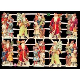 Bilder, 3D Bilder und ausgestanzte Teile usw... Album-souvenir, 10 Christmas Theme