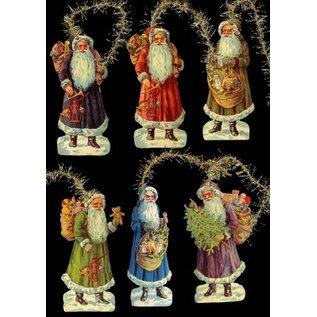 Bilder, 3D Bilder und ausgestanzte Teile usw... Glanzbilder, 17 Weihnachtsmotive