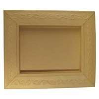 Schadowbox, Setting: Ornament, rectangular, 31,5x37,5x2,5 cm