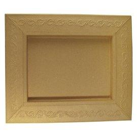 Objekten zum Dekorieren / objects for decorating Schadowbox, Ajuste: ornamento, rectangulares, 31,5x37,5x2,5 cm