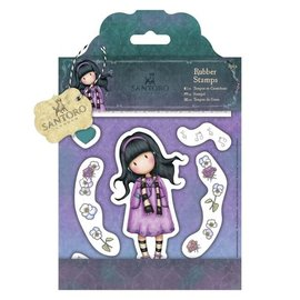 Gorjuss / Santoro Rubber Stamps - Santoro - Little Song