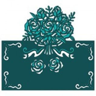 Die'sire Stamping and embossing stencil of Diesire, Beautiful Bouquet
