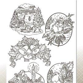 AMY DESIGN AMY DESIGN, Transparante stempels, kerst thema's