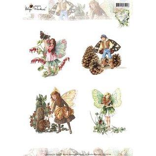 Bilder, 3D Bilder und ausgestanzte Teile usw... A4-blad, Elfe