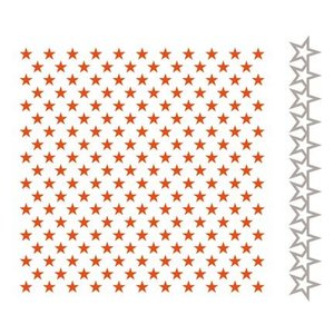 Marianne Design Embossingsfolder + Stan Template: Stars