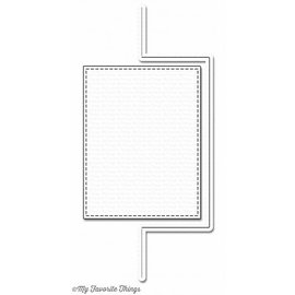 Die-namics Punching and embossing template: Flop Card rectangle