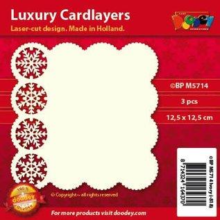 KARTEN und Zubehör / Cards Luxus Karten Layouts, 3 Stück