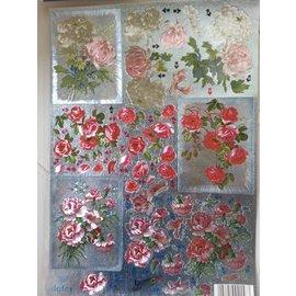 BILDER / PICTURES: Studio Light, Staf Wesenbeek, Willem Haenraets 3D Die cut sheets Metallic LOOK: Flowers