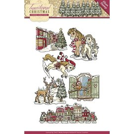 Yvonne Creations NEW Transparent stempel: Christmas