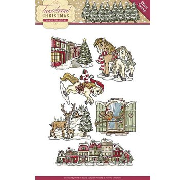 Yvonne Creations NEW Transparent stamp: Christmas