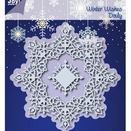 Joy!Crafts / Jeanine´s Art, Hobby Solutions Dies /  10% di taglio SCONTO muore: Inverno Wishes Doilie - unico disponibile!