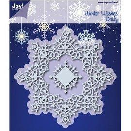 Joy!Crafts / Jeanine´s Art, Hobby Solutions Dies /  10% KORTING knipselmatrijzen: Winter Wishes Doilie - slechts één beschikbaar!