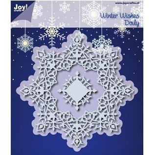 Joy!Crafts / Jeanine´s Art, Hobby Solutions Dies /  Cutting dies: Winter Wishes Doilie - slechts één beschikbaar!