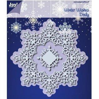 Joy!Crafts / Jeanine´s Art, Hobby Solutions Dies /  Stanzschablonen: Winter Wishes Doilie - nur noch 1 vorrätig!