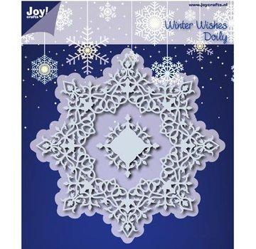 Joy!Crafts / Jeanine´s Art, Hobby Solutions Dies /  10% rabat skæring dør: Winter Wishes Doilie - eneste tilgængelige!