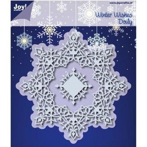 Joy!Crafts / Jeanine´s Art, Hobby Solutions Dies /  10% RABATT Stanzschablonen: Winter Wishes Doilie - LETZTE Schablone!