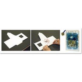 BASTELZUBEHÖR, WERKZEUG UND AUFBEWAHRUNG LED-lamp + 1 LED kaartformaat A6 + envelop