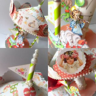 """Karten und Scrapbooking Papier, Papier blöcke Designer Block, 30,5 x 30,5 cm, """"Birthday Party"""""""