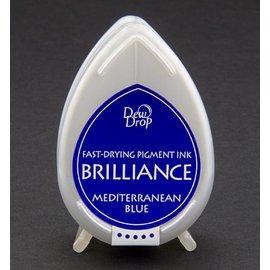 FARBE / STEMPELKISSEN Brilliance Dew Drop, blauwe Middellandse Zee