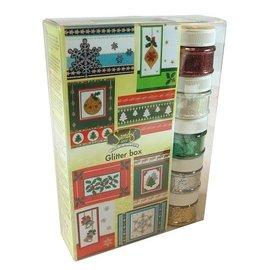 Joy!Crafts / Jeanine´s Art, Hobby Solutions Dies /  TILBUD! Maxi jule glitter boks