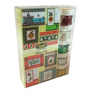 Joy!Crafts / Jeanine´s Art, Hobby Solutions Dies /  SPECIALE AANBIEDING! Maxi Kerstmis schittert doos