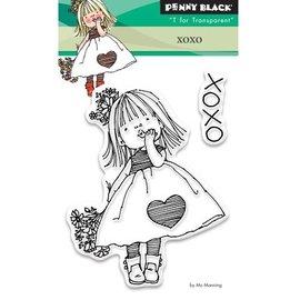 Penny Black Transparant stempel: Xoxo