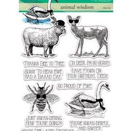 Penny Black timbro trasparente: Regno animale