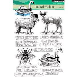 Penny Black Transparent Stempel: Animal kingdom