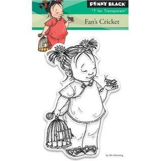 Penny Black Transparant stempel: cricket Fan's