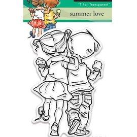 Penny Black Gennemsigtige frimærker: Sommer kærlighed