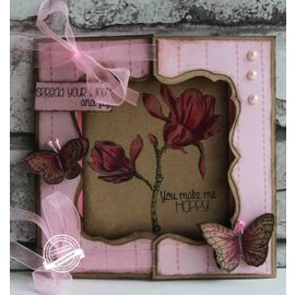Dutch DooBaDoo A4 Template: Card Art Card Window