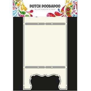 Dutch DooBaDoo A4 Template: Kaart Kaart van de kunst Window