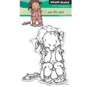 Penny Black Transparent stempel: På potten