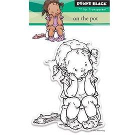 Penny Black Transparant stempel: Op de pot
