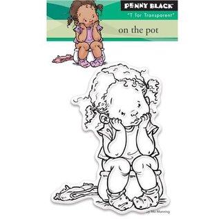Penny Black Transparent Stempel: On the pot