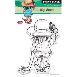 Penny Black Transparent Stempel: Big shoes