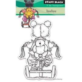 Penny Black timbre transparent: ByeBye