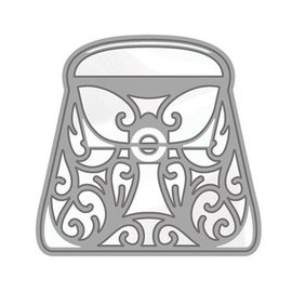 Tonic Studio´s Poinçonnage et gaufrage modèle: Rococo sac à main élégant