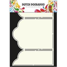 Dutch DooBaDoo A4 Skabelon: Kort Type Triptech