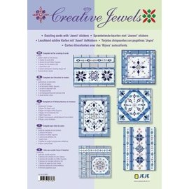 STICKER / AUTOCOLLANT Kreatives Kartenset: Creative Jewels
